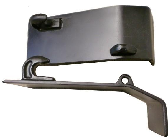 Koppelhaken-Platte-Frontlader-Euroaufnahme-Koppelplatte-10mm-Materialstaerke